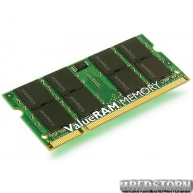 Память Kingston SODIMM DDR2-800 2048MB PC2-6400 (KVR800D2S6/2G_TTX760/2G)