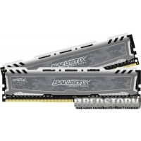 Crucial DDR4-2400 16384MB PC4-19200 (Kit of 2x8192) Ballistix Sport LT (BLS2C8G4D240FSB)