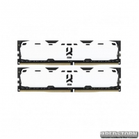 Модуль памяти DDR4 2x4GB/2400 GOODRAM Iridium White (IR-W2400D464L15S/8GDC)
