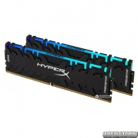 Оперативная память HyperX DDR4-3200 16384MB PC4-25600 (Kit of 2x8192) Predator RGB (HX432C16PB3AK2/16)