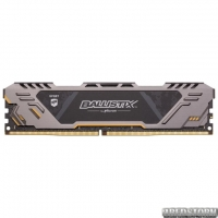 Оперативная память Crucial DDR4-3200 16384MB PC4-25600 Ballistix Sport AT (BLS16G4D32AEST)