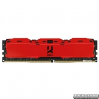 Оперативная память Goodram DDR4-3000 8192MB PC4-24000 IRDM X Red (IR-XR3000D464L16S/8G)