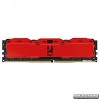 Оперативная память Goodram DDR4-3000 8192MB PC4-24000 IRDM X Red (IR-XR3000D464L16S/8G)