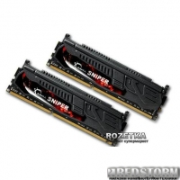 Оперативная память G.Skill DDR3-1866 8192MB PC3-14900 (Kit of 2x4096) Sniper (F3-14900CL9D-8GBSR)