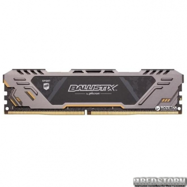 Оперативная память Crucial DDR4-3000 8192MB PC4-24000 Ballistix Sport AT (BLS8G4D30CESTK)