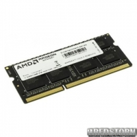 Оперативная память AMD SODIMM DDR3L-1600 8192MB PC3L-12800 R5 Performance Series (R538G1601S2SL-U)