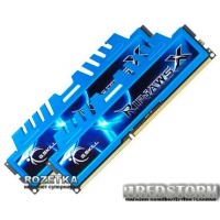 G.Skill DDR3-1600 8192MB PC3-12800 (Kit of 2x4096) RipjawsX LV (F3-12800CL9D-8GBXM)
