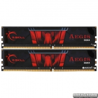 Оперативная память G.Skill DDR4-3000 16384MB PC4-24000 (Kit of 2x8192) Aegis (F4-3000C16D-16GISB)
