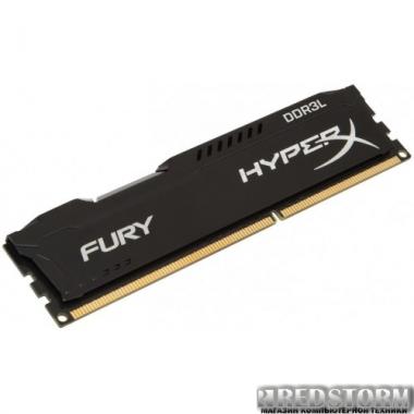 Память Kingston DDR3L-1600 8192MB PC3-12800 HyperX FURY Black (HX316LC10FB/8)