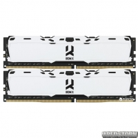 Оперативная память Goodram DDR4-3000 16384MB PC4-24000 (Kit of 2x8192) IRDM X White (IR-XW3000D464L16S/16GDC)