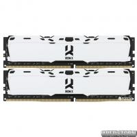Оперативная память Goodram DDR4-3000 16384MB PC4-24000 (Kit of 2x8192) IRDM X White (IR-XW3000D464L16S/16GDC)