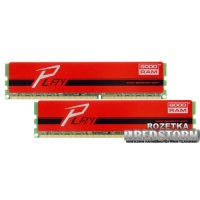 Goodram DDR3-1600 16384MB PC3-12800 (Kit of 2x8192) Play Red (GYR1600D364L10/16GDC)