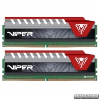 Оперативная память Patriot DDR4-2400 16384MB PC4-19200 (Kit of 2x8192) Viper Elite Series Red (PVE416G240C5KRD)