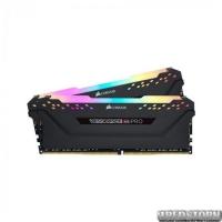 Оперативная память Corsair 16 GB (2x8GB) DDR4 3200 MHz Vengeance RGB Pro Black CMW16GX4M2C3200C16 (F00174742)