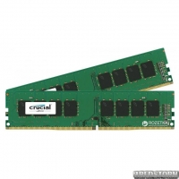 Оперативная память Crucial DDR4-2400 16384MB PC4-19200 (Kit of 2x8192) (CT2K8G4DFS824A)