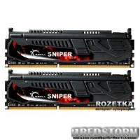 Оперативная память G.Skill DDR3-2133 8192MB PC3-17000 (Kit of 2x4096) Sniper (F3-17000CL9D-8GBSR)