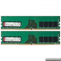 Оперативная память Kingston DDR4-2400 16384MB PC4-19200 (Kit of 2x8192) ValueRAM (KVR24N17S8K2/16)