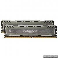 Оперативная память Crucial DDR4-3000 16384MB PC4-24000 (Kit of 2x8192) Ballistix Sport LT Grey (BLS2K8G4D30AESBK)