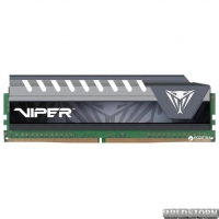 Оперативная память Patriot DDR4-2666 16384MB PC4-21300 Viper Elite Series Gray (PVE416G266C6GY)