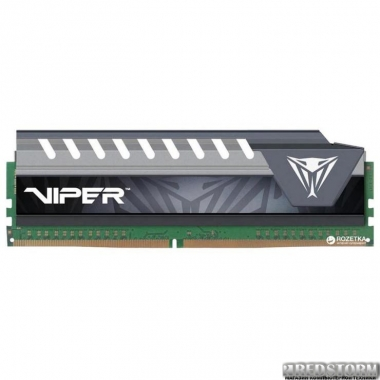 Оперативная память Patriot DDR4-2666 16384MB PC4-21300 Viper Elite Series Gray (PVE416G266C6GY)