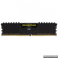 Оперативная память Corsair DDR4-3000 16384MB PC4-24000 Vengeance LPX Black (CMK16GX4M1D3000C16)