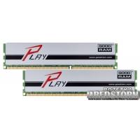 Goodram DDR3-1600 16384MB PC3-12800 (Kit of 2x8192) Play Silver (GYS1600D364L10/16GDC)