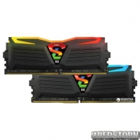 Оперативная память GeIL DDR4-2400 16384MB PC4-19200 (Kit of 2x8192) Super Luce Black RGB Lite (GLC416GB2400C16DC)