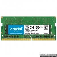 Оперативная память Crucial SODIMM DDR4-2666 4096MB PC4-21300 (CT4G4SFS8266)