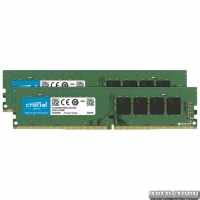 Оперативная память Crucial DDR4-2400 16384MB PC4-19200 (Kit of 2x8192) (CT2K8G4DFD824A)