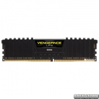 Оперативная память Corsair DDR4-2400 8192MB PC4-19200 Vengeance LPX (CMK8GX4M1A2400C16) Black