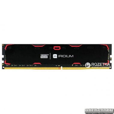 Память Оперативная память Goodram DDR4-2133 16384MB PC4-17000 Iridium Black (IR-2133D464L15/16G)