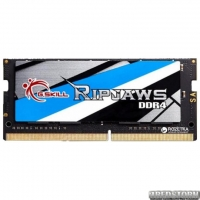 Оперативная память G.Skill SODIMM DDR4-3000 16384MB PC4-24000 Ripjaws (F4-3000C16S-16GRS)