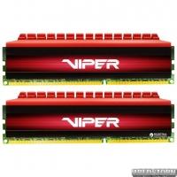 Оперативная память Patriot DDR4-3200 16384MB PC4-25600 (Kit of 2x8192) Viper 4 Series Red (PV416G320C6K)