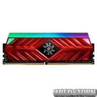 Модуль памяти для компьютера DDR4 8GB 3000 MHz XPG Spectrix D41 Red ADATA (AX4U300038G16-SR41)