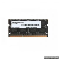 Оперативная память AMD SoDIMM DDR3 4096Mb (R534G1601S1SL-UOBULK)