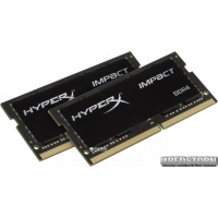 Kingston SODIMM DDR4-2133 16384MB PC3-17000 (Kit of 2x8192) HyperX Impact (HX421S13IBK2/16)