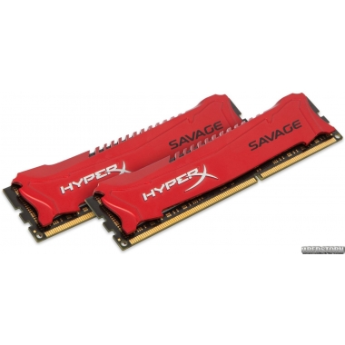 Память Kingston DDR3-1866 8192MB PC3-14900 (Kit of 2x4096) HyperX Savage (HX318C9SRK2/8)