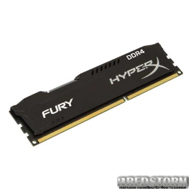 Память Kingston DDR4-2133 8192MB PC4-17000 HyperX FURY Black (HX421C14FB/8)