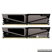 Оперативная память Team T-Force Vulcan DDR4-2666 16384MB PC-21300 (Kit of 2x8192) Gray HS (TLGD416G2666HC15BDC01)