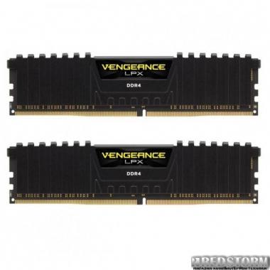 Оперативная память Corsair DDR4 8GB (2x4GB) 3000 MHz Vengeance LPX Black CMK8GX4M2C3000C16 (F00173488)