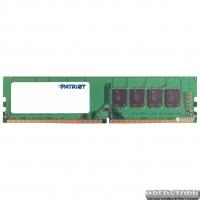 Оперативная память Patriot DDR4-2400 4096MB PC4-19200 (PSD44G240082)