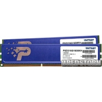 Patriot DDR3-1600 16384MB PC3-12800 (Kit of 2x8192) Signature Line (PSD316G1600KH)
