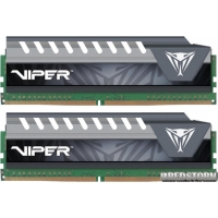 Patriot DDR4-2133 16384MB PC4-17000 (Kit of 2x8192) Viper Elite Series Gray (PVE416G213C4KGY)