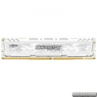 Оперативная память Crucial DDR4-2400 16384MB PC4-19200 Ballistix Sport LT White (BLS16G4D240FSC)