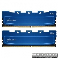 Модуль памяти для компьютера DDR4 16GB (2x8GB) 2666 MHz Kudos Blue eXceleram (EKBLUE4162619AD)