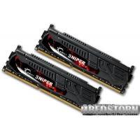 G.Skill DDR3-1600 8192MB PC3-12800 (Kit of 2x4096) Sniper (F3-12800CL9D-8GBSR)