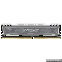 Оперативная память Crucial DDR4-2666 8192MB PC4-21300 Ballistix Sport LT Grey (BLS8G4D26BFSBK)