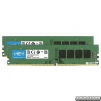 Оперативная память Crucial DDR4-2666 16384MB PC4-21300 (Kit of 2x8192) (CT2K8G4DFS8266)