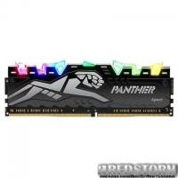 Модуль памяти для компьютера DDR4 8GB 3200 MHz Panther Rage RGB Silver Apacer (EK.08G21.GJN)