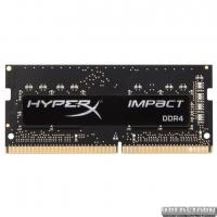 Оперативная память HyperX SODIMM DDR4-2666 8192MB PC4-21300 Impact (HX426S15IB2/8)